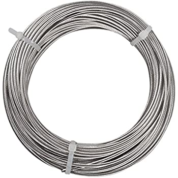 Amazon.com: PanaView Stainless Steel Cable For Railing Systems, 100 ...