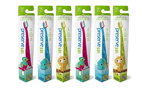 Preserve Kids Toothbrush Soft Bristles product image