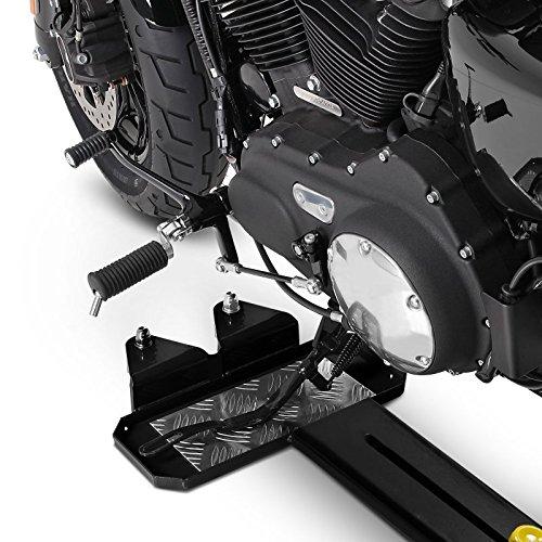FLHXSE Rail de Rangement pour Harley Davidson CVO Street Glide ConStands M3 Noir r/églable