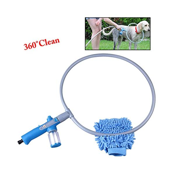 Glantop Pet All-around Washer Ring for Dog Quick Easy Cleaning Large by Glantop 2