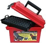 MTM Handgun Conceal Carry Case (Red)