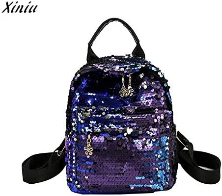 Amazon.com: mochilas Mujer 2018 Womens Shining Backpack Preppy Style Sequins Travel Satchel Mini Rucksack Mochila Feminina#4: Kitchen & Dining