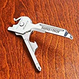 Swiss+Tech UKCSSS-XT 8-in-1 Utili-Key Key Chain Multi Tool Set, Outdoor Stuffs