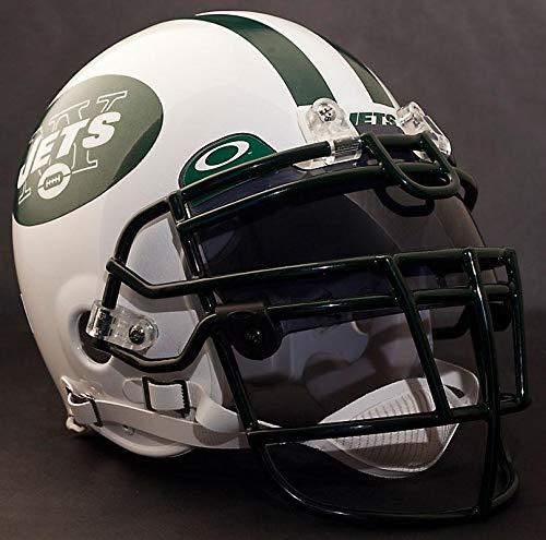 Riddell Custom New York Jets NFL ProLine VSR-4 Deluxe Replica Football Helmet
