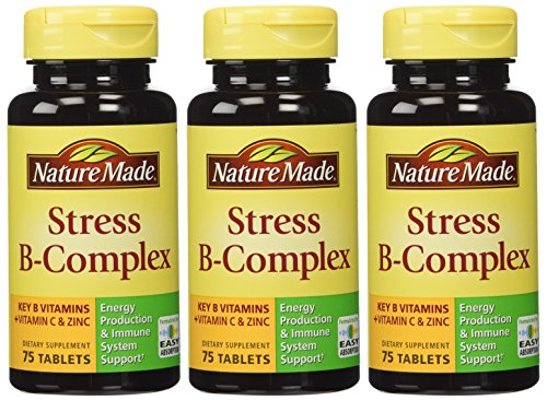 Nature Made Stress B Complex W Zinc Size 75ct (Pack of 3) 225 ct total Review