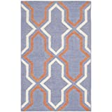 Safavieh Dhurries Collection DHU559A Hand Woven Purple and Multi Premium Wool Area Rug (2'6″ x 4′) Review