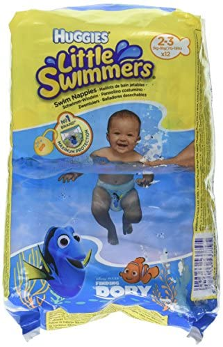 Huggies Swimmers Disposable 7lb 18lb 12 Count