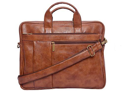 The Shopoholic Genuine Leather 13 inch Messenger Bag
