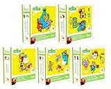 5 Cricut Sesame Street Cartridges Bundle: Elmo's Party & Font & Friends & Elmo and Friends and Sesame Street Seasons