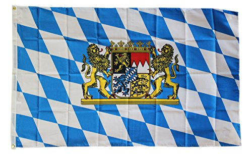 Bavaria (Lion) - 3' x 5' Dura-Poly Polyester German State Flag by Flagline