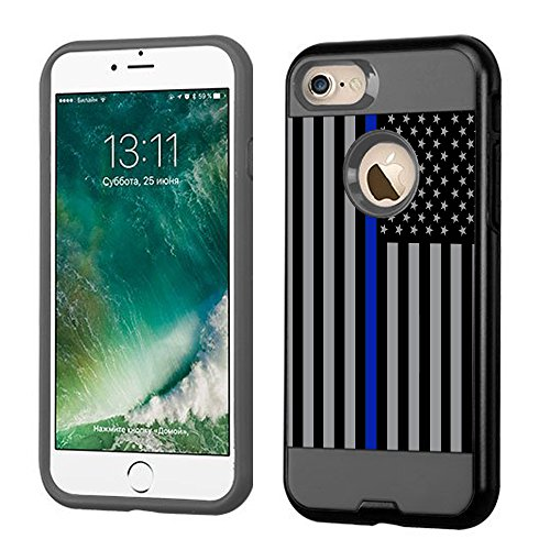 Shockproof Armor Case for Apple iPhone SE/5S/5 (Crystal/White) - 2