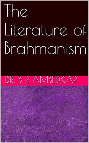 The Literature of Brahmanism