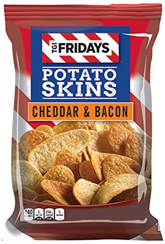 - TGI Friday's 4 oz Cheddar & Bacon Potato Skins Chips (3 Bags)