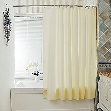 Uforme 60 Inch By 78 Shower Curtain Liner Mlidew Resistant Eco Friendly PEVA Bath