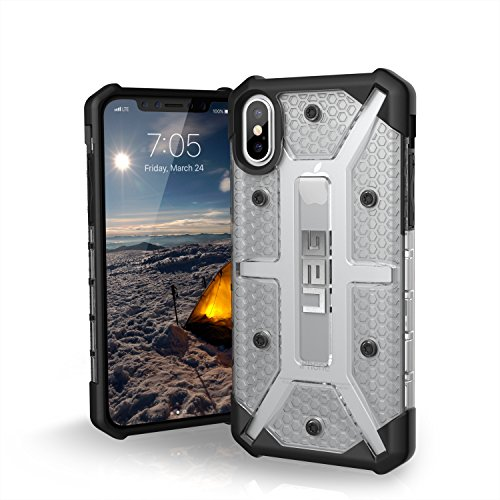 URBAN ARMOR GEAR UAG iPhone Xs/X Plasma Feather-Light Rugged [Ice] Military Drop Tested iPhone Case ()