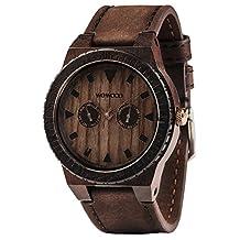 WeWood WLEOLEATHERCHOC Men's Leo Leather Chocolate Watch