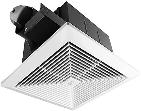 Bv Ultra Quiet 90 Cfm 0 8 Sone Bathroom Ventilation Exhaust Fan Amazon Com
