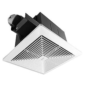 Bv ultra quiet 90 cfm 0 8 sone bathroom ventilation and Ultra quiet bathroom exhaust fan with light