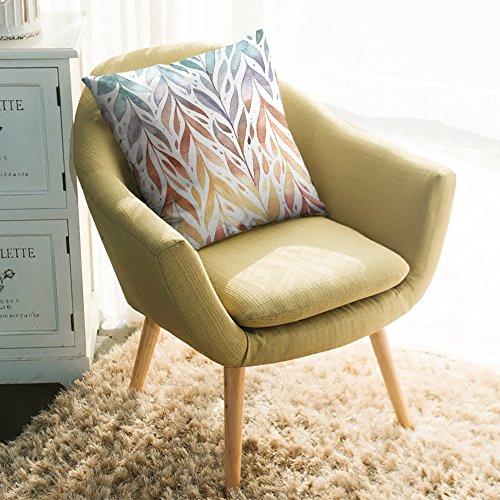 Edwiinsa Modern Printed Design Throw Pillows Comfortable And