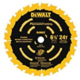 DEWALT DW9199 6-1/2-Inch 24T Precision Framing Saw Blade