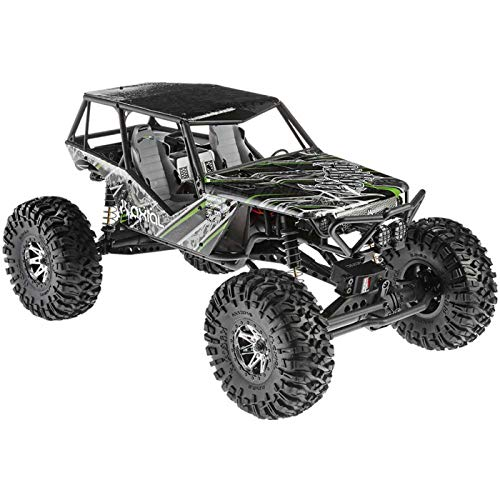 Axial Wraith 4WD RC Rock Racer Off-Road 4x4 Electric Ready to Run with 2.4GHz Radio and LED Light Kit, 1/10 Scale RTR ()