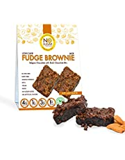 No Sugar Aloud Low Carb Fudge Brownie Mix (No sugar added, gluten free, Vegan, Paleo, Keto and Diabetic friendly)