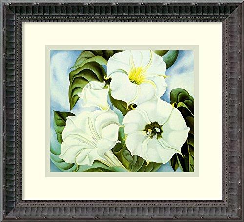 Georgia Okeeffe Jimson Weed (Framed Art Print 'Jimson Weed' by Georgia O'Keeffe)