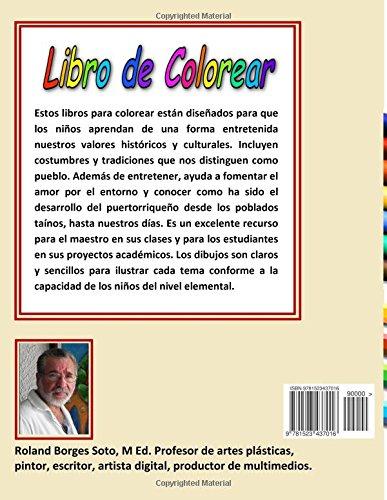 Amazon.com: Puerto Rico y sus cosas: Libro de Colorear / Coloring ...