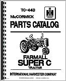 Farmall Super C Tractor Parts Manual
