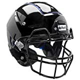 F7 Adult Football Helmet w/attached mask (Gloss White, Medium)