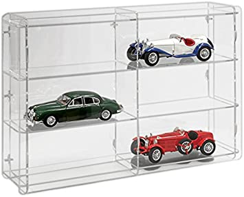 SORA 1//24 Model Car Display Case with transparent back-panel