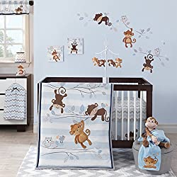 Bedtime Originals Mod Monkey 3 Piece Bedding Set for boys