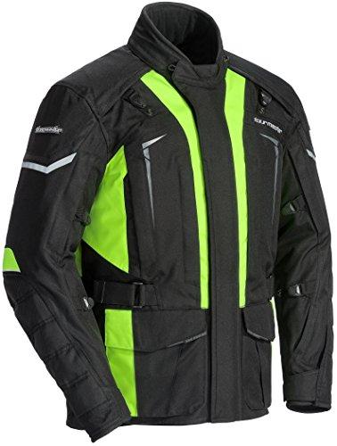 TourMaster Men's Transition Series 5 Jacket (Black/Hi-Viz, XX-Large)