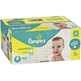 Pampers Swaddlers Disposable Diapers Size 4, 150 Count