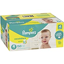 Pañales Pampers swaddlers, Talla 4, 1, 1