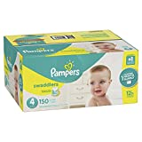 Baby : Pampers Swaddlers Disposable Diapers Size 4, 150 Count