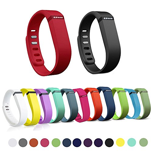 acement Band + Clasp for Fitbit Flex Wireless Wristband Bracelet (No Activity Tracker)-Blue Small ()
