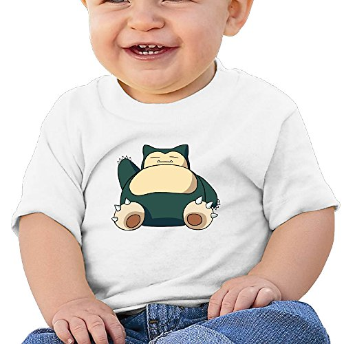 KIDDOS Infants &Toddlers Baby's Hog Snorlax Shirt 24 - Game Boy Star Trek