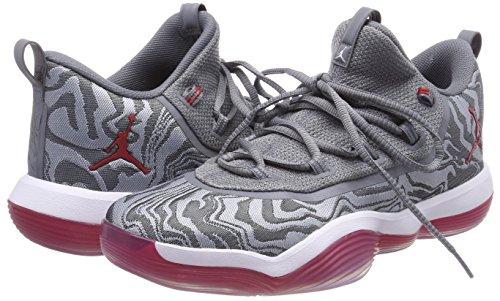 Homme Chaussures Nike Gris Blanc Super 004 Multicolores fly Froid Pour Low Jordan 2017 De Universitaire Rouge loups Basketball 7na7Xrzq5
