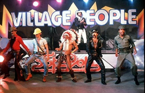 Village People 24X36 New Printed Poster Rare #TNW795084