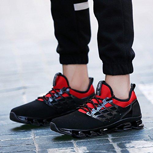 Sport Entraînement Compétition de 45 Rouge Running Noir Rouge Homme 38 Sneakers Basket Vert Femme Chaussures qXt4ww