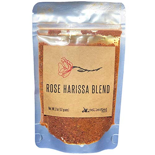 Rose Harissa: A beautifully crafted blend of peppers and real rose petals - 2 oz (1 Package)