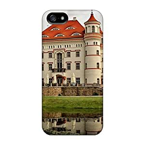 Awesome ImageZone Defender Tpu Hard Case Cover For Iphone 5/5s- Lovely Wojnowice Castle In Pol