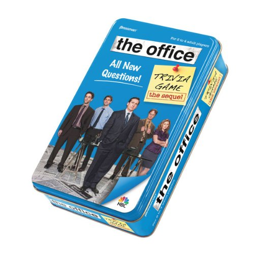 Pressman The Office Trivia Game in Tin - The Sequel -