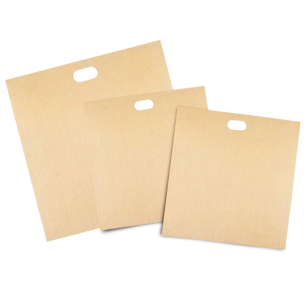 Hemore 16 x 16,5 cm, 16 x 18 x 19 cm, Bolsas de tostadora Reutilizables, Resistentes al Calor, sin Gluten, Aprobado por la FDA.