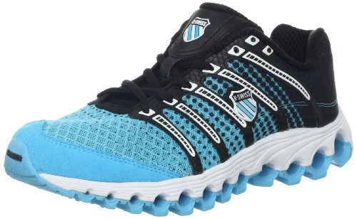 K-Swiss Women's Tube Run 100 Running Shoe,Blue,7 M US