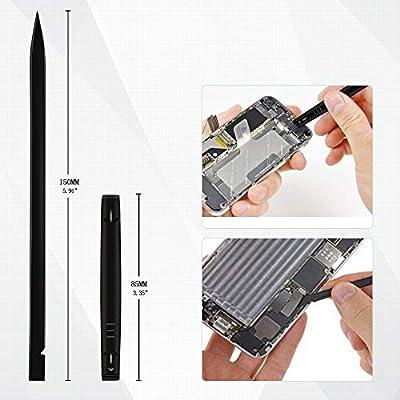 Kingsdun 5in1 Pentalobe Screwdriver Set,Star 5-Pointed Pentalobe P2 P5 P6 Screwdriver with 2 Opening Pry Tools for iPhone and Macbook Repair: Home Improvement