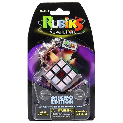 [RUBIK'S CUBE REVOLUTION Micro Edition Keychain] (Costume Cube Rubik)