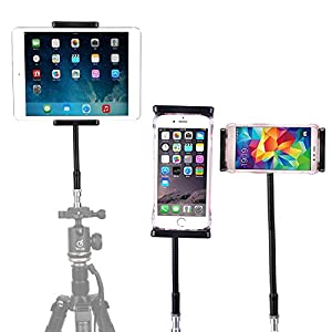 Lightweight Camera Travel Tripod, Portable Projector Stand with 360°Panorama Ball Head,1/4 Quick Release Plate,Bubble Level and Carry Bag for Canon Nikon Sony Olympus Fuji Projector DV Camcorders