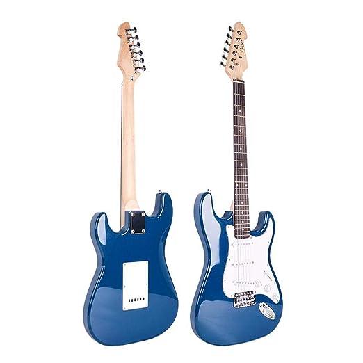 Hjyi Guitarra eléctrica Full Beech Guitarra eléctrica Maple Guitar ...